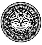 Polynesian tattoo Stock Photos