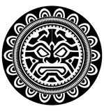 Polynesian tattoo Stock Photo