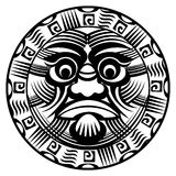 Polynesian tattoo Stock Photography