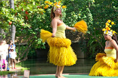 Polynesisch Cultureel Centrum Stock Afbeeldingen