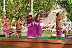 Polynesisch Cultureel Centrum Royalty-vrije Stock Afbeeldingen
