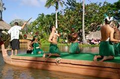 Polynesisch Cultureel Centrum Stock Fotografie