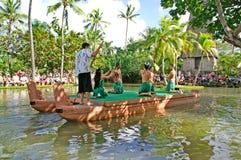 Polynesisch Cultureel Centrum Royalty-vrije Stock Foto
