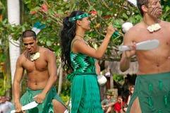 Polynesisch Cultureel Centrum Stock Afbeelding