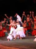 Polynesisch huwelijk Royalty-vrije Stock Foto's