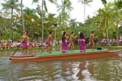 Polynesische kulturelle Mitte Stockbild