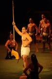 Polynesische Strijder Royalty-vrije Stock Afbeeldingen