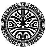 Polynesische Tätowierung Lizenzfreies Stockfoto