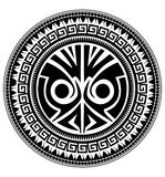 Polynesische Tätowierung Lizenzfreies Stockbild
