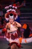 Polynesischer Tänzer Lizenzfreie Stockfotografie