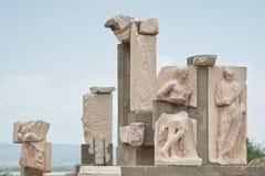 Polyphemus gruppstatyer arkivbilder