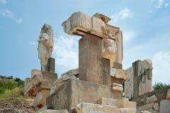 Polyphemus gruppstatyer 2 royaltyfri foto