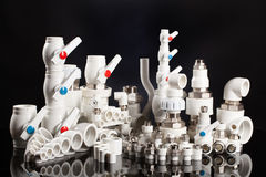 Polypropylene Fittings Stock Images
