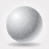Polysphere grigio Immagine Stock Libera da Diritti