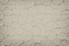Polystyrenbeschaffenheitshintergrund, Abschluss oben Stockbild
