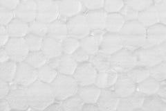 Polystyrenbeschaffenheitshintergrund, Abschluss oben Lizenzfreies Stockbild
