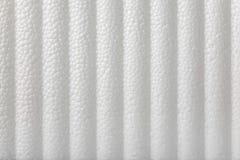 Polystyrene foam background Stock Images