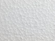 Polystyrene foam texture Stock Image