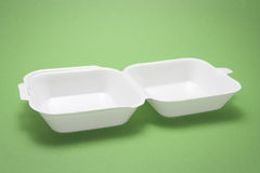 Polystyrene Food Box Royalty Free Stock Images