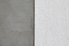 Polystyrene insulation of wall layers Royalty Free Stock Photos