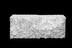 Polystyrene sheet Royalty Free Stock Image