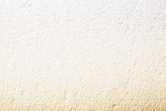 Polystyrene white yellow foam texture Stock Image