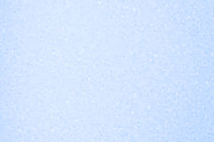 Polystyrenljus - blå bakgrund Arkivfoton