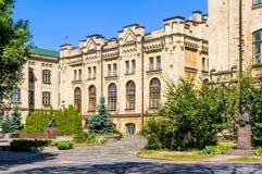 Polytechnique institut av Kiev Arkivbild