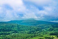 Polyud mountain view Stock Photos