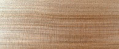 Polyurethane Coated Western Red Cedar Board Royalty Free Stock Photography