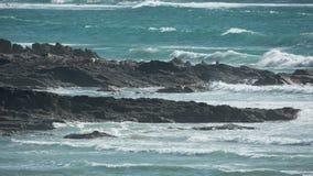 Polzeath beach in england Royalty Free Stock Image