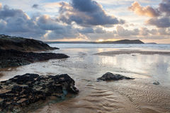 Polzeath Cornwall England Stock Photography