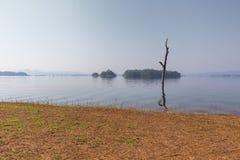 Pom Pee Khao Leaem National Park Kanchanaburi arkivbild