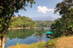Pom Pee Khao Leaem National Park Kanchanaburi royaltyfria bilder