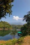 Pom Pee Khao Leaem National Park Kanchanaburi royaltyfria foton