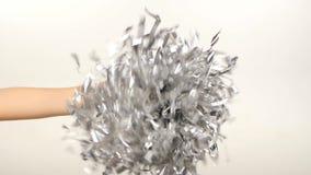 Pom-Pom Of Cheerleader Vector Illustration, slow stock video footage