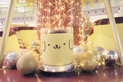 Pom Pom Purin christmas decoration in Hong Kong Stock Images