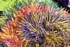 Pom-poms Royalty Free Stock Images