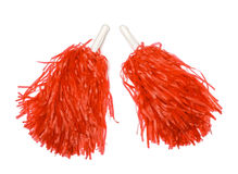 Pom poms Royalty Free Stock Photos