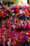 Pom Rubber Headband colorido imagem de stock royalty free