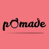 Pomade Logos Royalty Free Stock Photo