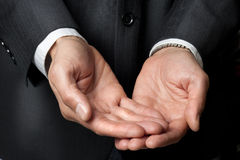 pomagają odpowiedzialności biznesowe ręki Obrazy Stock