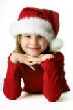 pomagier mały s Santa obraz royalty free