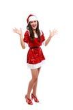 pomagier s Santa seksowny Zdjęcie Stock