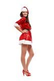 pomagier s Santa seksowny Fotografia Stock