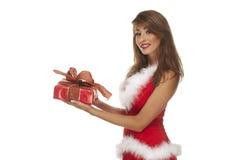 pomagier Santa seksowny Zdjęcie Stock