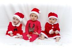 pomagiery mały s Santa obrazy stock