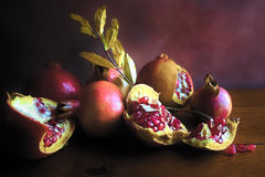 Pomagranates photographie stock