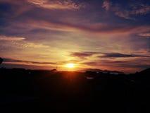 Pomalaa de la puesta del sol Fotografía de archivo libre de regalías