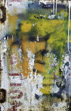 pomalowany metali Obraz Stock
